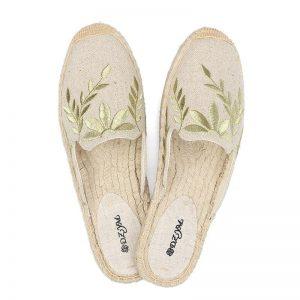2019 summer women slipper, flat espadrilles slides