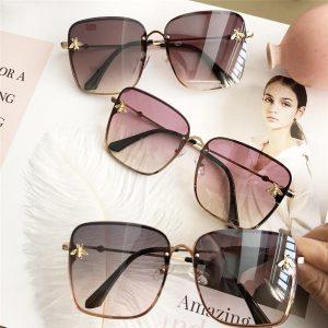 ALIKIAI New Square Sunglasses Women Italy Luxury Brand Designer Women Mirror Sun Glasses Vintage Sun Glasses Female Eyewear