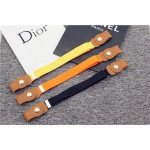 Child Buckle-Free Elastic Belt 2019 No Buckle Stretch Belt for Kids Toddlers Adjustable Boys and Girl`s Belts for Jean Pants