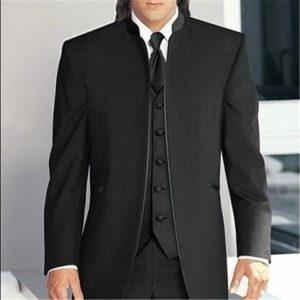 2019 Men Wedding Suits Custom Made Groom Tuxedos Best Male Formal Suit (Jacket+Pants+Vest+Tie) terno masculino costume homme