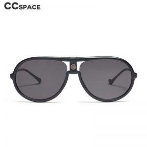 45927 Big Frame Oval Sunglasses Men Women Fashion Shades UV400 Vintage Glasses