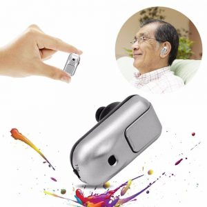 Hearing Aid Digital In Ear Amplifier Hearing Aids Device Silver ABS ersonal Health Ear Care Tools for elderly Big Hot Sale