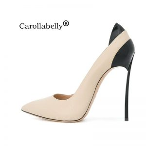 2018 Autumn High Quality Sexy Women Pumps  10cm or 12cm High Heels Wedding Party Shoes  Size 33-43