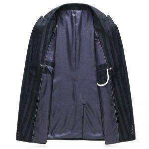 Striped Men Suit Jacket + Pant + Vest Business Wedding Banquet Elegant Clothing Men suit three piece set Asia size S - 5XL