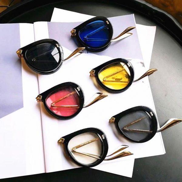 JackJad New Fashion Folding Portable Style Pilot Sunglasses Women Diamond Decoration Fold Brand Design Sun Glasses Oculos De Sol