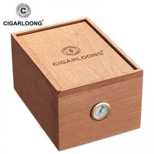 Humidor Cedar Wood Large Capacity Cigar Moisturizer Box/Cabinet HH-116