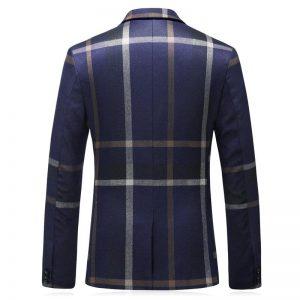 PAULKONTE (Jacket +Vest+Pant)2019 Fashion Stripe Men Suit High Quality Business Party Nightclub Slim Fit Classic Men's Suit