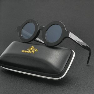 2019 Vintage Round Sunglasses Women Brand Designer Sunglasses Female Fashion Glasses Retro Small Circle Eyewear UV400 FML