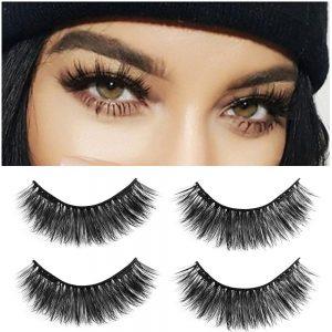 4PCS Dual Magnetic False Eyelashes On Magnets Natural Lashes Extension Tools Reusable Fake Eye Lashe Glue-free Beauty Makeup Hot