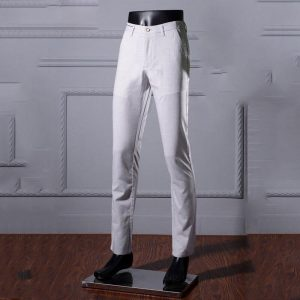 2019 New Men's trousers Summer Thin Section Men's Business trousers Men's Slim Straight Dress-free hot trousers Wholesale 28-40