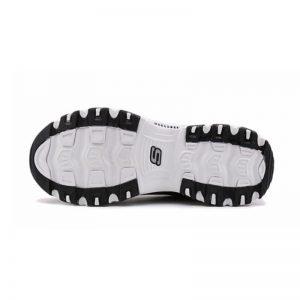 Skechers shoes for Men Sneakers D'LITES Platform Casual Shoes Men Walking Footwear Breathable Mesh Sneakers Men Shoes 52675-BKW
