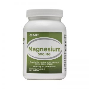 Free shipping Magnesium 500mg*120capsules Essential for calcium absorption and strong bones & teeth