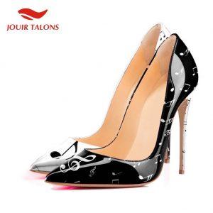 2019 Brand Design Women Shoes Large Size 45 Sexy Elegant High Heels Pumps Party Shoes Woman