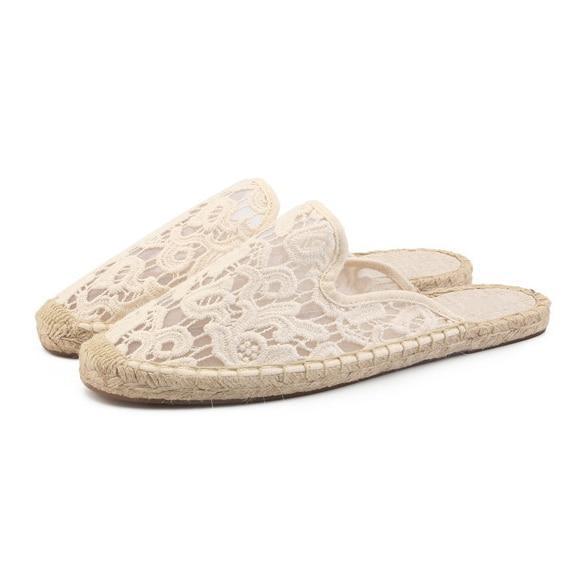 2019 women summer sandals Women's Smoking Slipper, flat espadrilles sandals
