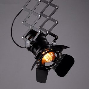 American industrial wind bar aisle clothing shop personalized probe backlit spotlight led track lights