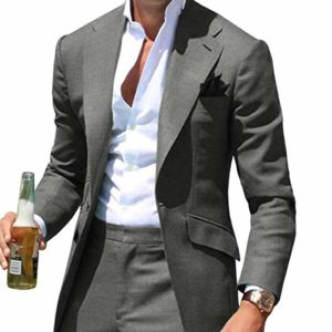 Men's summer suit tailored light and breathable royal blue men's suit, custom men's summer wedding dress