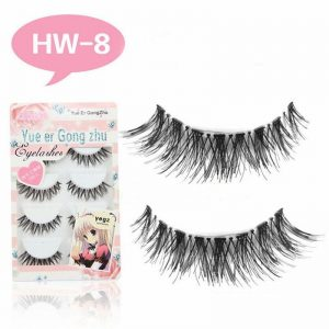 5 Pairs/set New Natural Long Cross Soft Flase Eyelashes Comfortable Thick Fake Eye Lashes Extension Cosmetic Beauty Tools