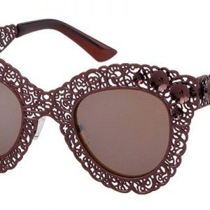 WHO CUTIE 2018 Luxury Oversized Cat Eye Sunglasses Women Brand Designer Retro Vintage 80S Baroque Cateye Sun Glasses Shades 670