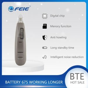 Invisible Hearing Aid Behind The Ear Sound Amplifier For Elderly Adjustable Volume Machine High Power care S-203 Deafness Device