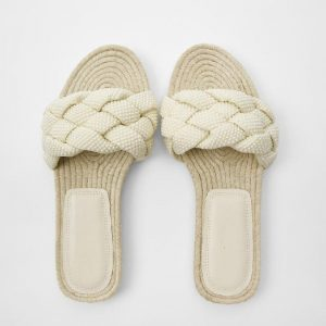 2020 Summer Fashion Ladies slide Sandals Flat Wome Pearl Slippers Shoes Outside women slippers
