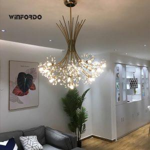 2020 Luxury G4 LED Modern Crystal Chandelier Lighting For Dining Room Lustre Lampadario Luminaria