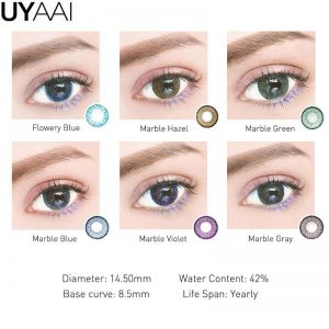 2pcs MARBLE Series Colored Contact Lenses Eye Natural Contact Lenses Color Contact Lens for Eye lentes de contacto Bio-essence