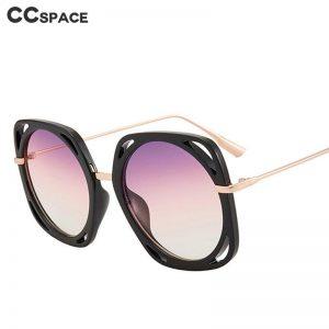 47332 Square Hollow Sunglasses Men Women Fashion UV400 Glasses