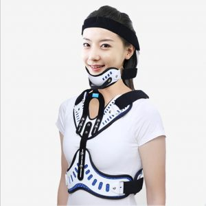Head Neck Chest Orthosis Adjustable Cervical Thoracic fracture  postoperative  rehabilitation Corrector fixation  support bracke