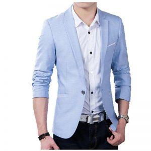 Brand New Men Blazer 2020 Casual Business Wedding Party Suits Men Slim Fit Suit jacket Male Plus Size S-5XL Blazer Masculino