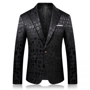 PYJTRL Trend Male Quality Fashion Casual Jacquard Blazers Blazer Men Veste Costume Homme