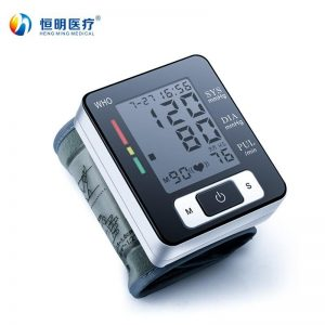 Hengming W133 Household wrist type automatic electronic blood pressure monitor