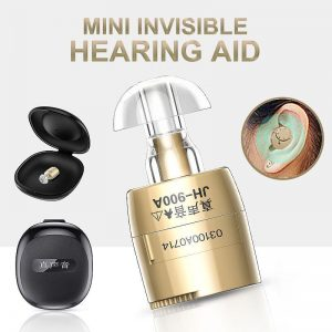 Hearing Aid Device Digital Invisible Sound Amplifiers MINI Adjustable Clear Ear hearing Wireless for Elderly Moderate