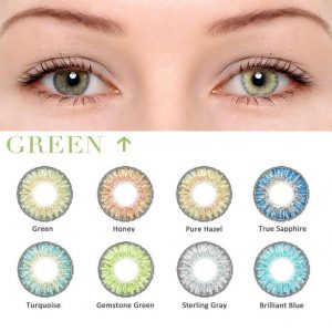 2pcs(1pair) Lenses for Eyes Anime Cosplay Series Cosplay Color Contact Lenses Multicolored Lenses Eye Contacts Christmas Makeup