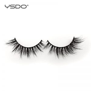 YSDO 1 Pair 3D Mink Lashes Makeup Wispy Fluffy Mink Eyelashes Natural Long False Eyelashes Extension Fake Lashes Maquillaje 39A