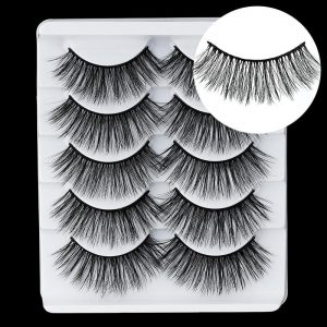 5 Pairs 3D Faux Mink eyelashes False Eyelashes Long Lashes Wispy Makeup Beauty Extension Tools Wimpers 34 Styles Wholesale