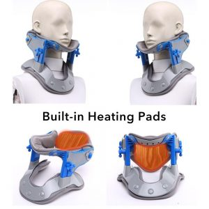 Heating Neck Cervical Collar Neck Corrector Traction Apparatus Spine Cervicale Massage Pain Relief Neck Support Heat Treatment