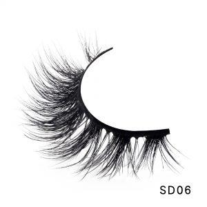 NEW 1 Pair 3D Mink Eyelashes Fluffy Dramatic Eyelashes Makeup Wispy Mink Lashes Natural Long False Eyelashes Thick Fake Lashes
