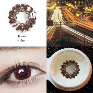 2pcs/pair 12 Color Contact Lenses Hazel Style Cosmetic Contact Lens Eye Color Degree prescription Beautiful Beauty