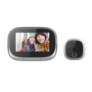 """4.3"""" Digital Peephole Camera Automatic Video Photo Door Viewer HD IR Night Vision Motion Detection Security Recharge Doorbell"""
