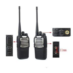 8KM Long Range Walkie Talkie 3800mAh Battery Handheld Radio 8W 2000Mah Battery  FM Transceiver