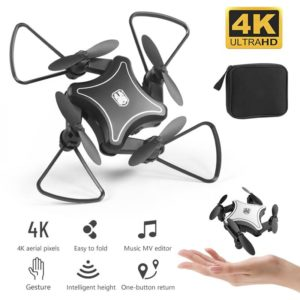 Mini Drone WiFi FPV Camera 4K HD Altitude Hold RC Drone Helicopter One-Key Return Foldable Mini Quadcopter High Quality Dron
