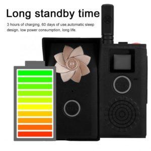 Mini 1 V 2 Outdoor Indoor Wireless Doorbell Intercom Walkie-Talkie Home Security Door Bell Waterproof Door Phone 100-240V
