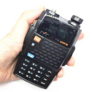 TYT-UVF9 walkie-talkie UV dual waiting car self-driving F9 walkie-talkie