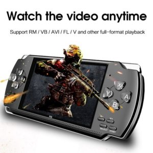 """64 Bit 4.3""""  Portable Handheld Game Handheld game console 8GB Console Player 10000+Games With  MP3 MP4 MP5 Player Camera"""