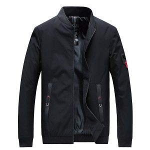 Nice Pop Men Jackets And VogueCoats Fashion Men Collar Slim Fit Spring Jacket Men Windbreaker
