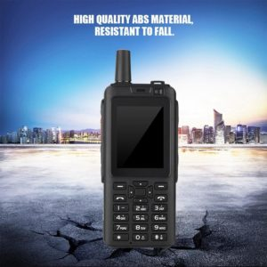 Two-way Radio 10km Portable Walkie Talkie Support WCDMA GPS Network SIM card Smartphone Ergonomic Design Dustproof 3500mAh