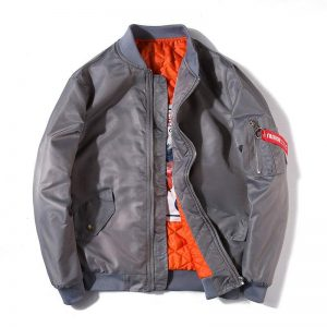 Mens Autumn Jacket Print Feathers Stand Collar Bomber Jacket Fashion Outwear Men Thin Coat Bomb Baseball Warm Jackets