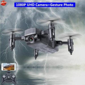 Outside 1080P UHD Camera WIFI Real Time RC Drone Toys Hobbies 2.4G 100M Rotating Rolling Headless Mode Hover Micro RC Quadcopter