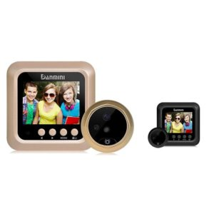 New Danmini W5 2.4inch Door Security Digital Color Sn No Disturb Peephole Viewer 2 MP Support Max 32G TF Card