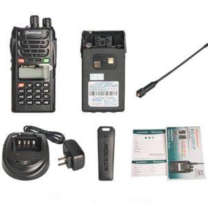 Ad ultrasuoni originale KG-UVD1P walkie-talkie UV dual-band doppia frequenza dual-display dual attesa della piattaforma